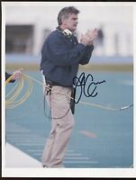 Jack Cosgrove Signed 8x10 Photo College NCAA Football Coach Autograph Maine