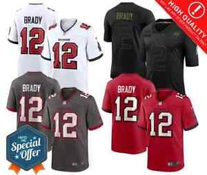 New 2021 Men's Tampa Bay Buccaneers #12 Tom Brady 🔥Limited Stitched Jersey🔥