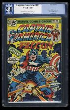 Captain America #197 PGX VG/FN 5.0 OFF-WHITE to WHITE Pages