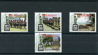 Kiribati 2016 MNH New York Stamp Show NY2016 4v Set Independence Stamps
