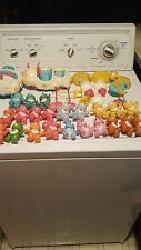 Vintage lot of posable care bears and accessories-car, chairs, etc. - 22 bears!!
