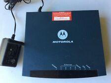 MOTOROLA DSL 4 Port Ethernet Wireles Router Model GZ53347