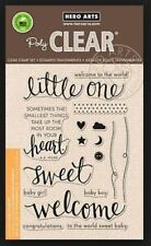 Hero Arts - Little One - baby stamps - clear cling stamps