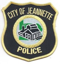 **JEANNETTE PENNSYLVANIA POLICE PATCH**