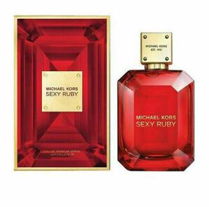 Michael Kors Sexy Ruby 100ml Eau De Parfum Perfume Spray For Women Damaged Box