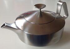 More details for vintage alveston old hall robert welch designed stainless steel tea pot 1960s