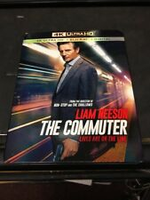 The Commuter (4k Ultra HD, Blu-Ray, Digital) New - Sealed - Free Shipping