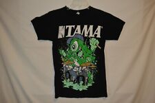 Tama Drums Monster T-shirt Anvil Size Small Black Drummer Shirt