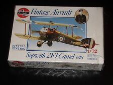 MAQUETTE - SOPWITH 2F1 CAMEL 1918 - AIRFIX - 1/72 - MODEL KIT - COMPLETE