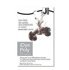 Jacquard iDye Poly Silver Grey - fabric dye for synthetic fibers (polyester etc)