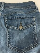 NYDJ Not Your Daughter's Jeans Lift Tuck Tech Button Flap Pockets Women's 6P USA