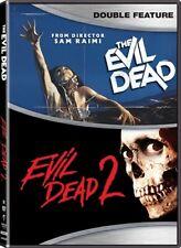 The Evil Dead + Evil Dead 2 New Sealed 2 Dvd Set