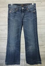 Seven For All Mankind Womens Jeans Sz 26 The Slim Trouser Dark Wash