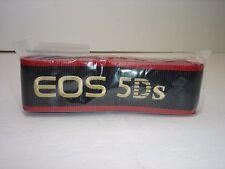 CANON EOS 5Ds CAMERA NECK STRAP  NEW condition, in Plastic.  #01423