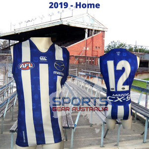 2019 North Melbourne Kangaroos AFL HOME Player Issue Guernsey