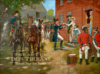 """""""Answering Liberty's Call"""" Don Troiani Revolutionary War Canvas Giclee"""
