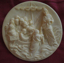 "Ghiberti Doors Collection plates""Christ Walks Upon The Water"" Alberto Santangela"