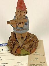 Stumbles 1987 Tom Clark Signed Gnome Figurine 1188 Coa Story 10