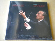 Claudio Abbado Gustav MahlerSinfonia n. 2 e 42 CDNUOVOclassicaResurrezione