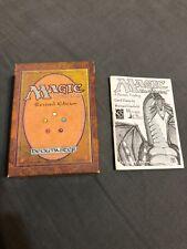 Revised Empty Starter Deck Box MTG - Magic Gathering 3rd Edition