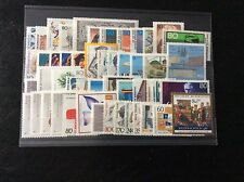 Germany Complete Year 1988 Stamp Set MNH German Stamps Mint Never Hinged