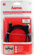 Hama High Speed HDMI Mini Anschlusskabel Kabel für Tablet PC Super Slim 1,8m