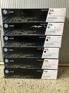 HP Original 117A Toner Cyan W2071A New Boxed & Sealed   £ 33.29 plus Vat