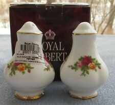 Royal Albert Old Country Roses Salt and Pepper Shakers New in Box