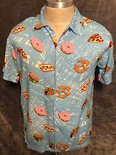 Men's - Hawaiian Rowdy Gentleman Junk Food Button Shirt - Medium