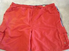 Easy Men's Surfing Boarding Swimming Shorts Red color size L (36-38)