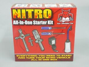 RC Nitro Gas STARTER KIT Glow Igniter , Tools, Fuel Bottle