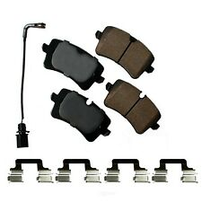 Disc Brake Pad Set-Euro Ultra Premium Ceramic Pads Rear Akebono EUR1547A