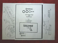 O-Ring Seal Kit Crosman modèle 600 /& 677 One 1 Vue éclatée /& Guide