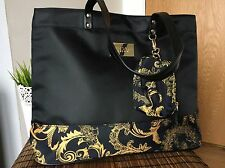 Designer Versace Perfumes Tote Shopper Shoulder Bag