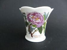 """Portmeirion Botanic Garden Paeonia Moutan Shrubby Peony Vase 3.25"""" tall."""