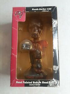 Ronde Barber # 20 Hand Painted Bobble Head Doll  Limited Edition