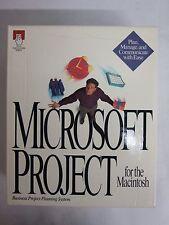 Microsoft Project for Macintosh
