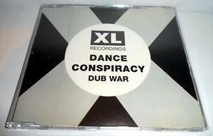 DANCE CONSPIRACY - DUB WAR 1992 CD SINGLE XL RECORDINGS