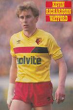 Football Photo>KEVIN RICHARDSON Watford 1986-87