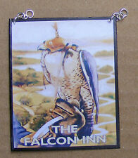 1:12 Scale The Falcon Inn Pub Sign Dolls House Miniature Bar Drink Accessory