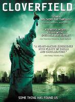 Cloverfield (DVD, 2008) Widescreen.