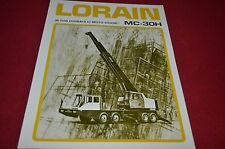Lorain MC-30H Hydraulic Truck Crane Dealer's Brochure DCPA6 ver2