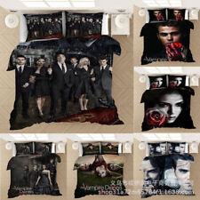 The Vampire Diaries 3PCS Bedding Set Duvet Cover Pillowcase Twin Full Queen King