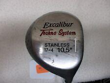 //Excalibur Techno System 10.5* #1 Driver - R.Hand - Men's - Steel Shaft - #573