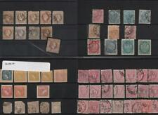 AUSTRIA: 1850-1883 Collection of Used & Unused Examples - 8 Stock Cards (33322)