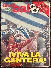 DON BALON 343 EXTRA LIGA 81-82 FUTBOL ESPECIAL REAL SOCIEDAD CAMPEON