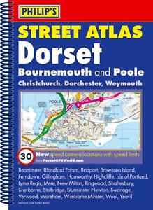 Dorset map Philips Spiral Street Atlas - Dorset