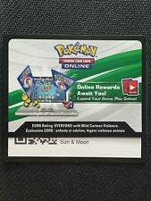 Pokemon Sun & Moon Base Set TCG online code cards (48 count)
