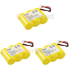 3x Rechargeable Home Phone Battery for AT&T 4000X 2422 2440 2447 2455 4051 4061