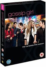 GOSSIP GIRL Complete Series 1 DVD Box Set All Episodes First Season Original UK